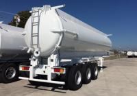 sewage vacuum tanker trailer