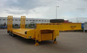 china low bed trailer standard